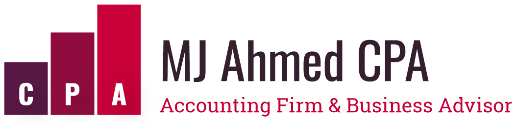 MJ Ahmed CPA Logo
